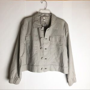 New Catherine Malandrino Linen Jacket M
